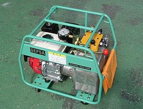 エンジン式油圧ポンプ(SEP5A型)