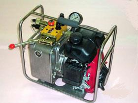 エンジン式油圧ポンプ(SEP2型)