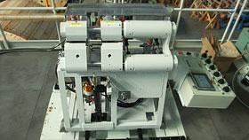 トロリ線常温圧接装置